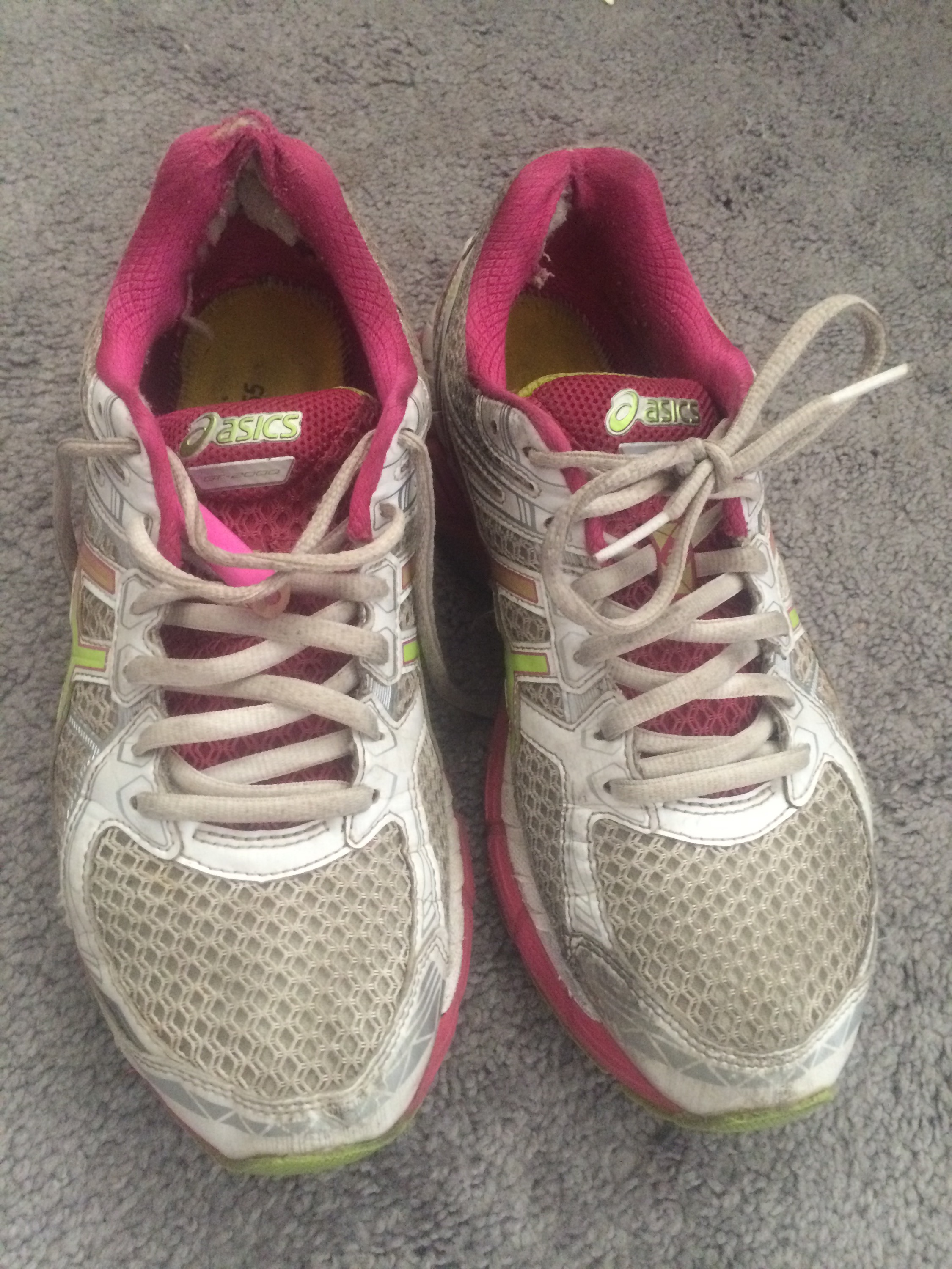 Running shoes-The gift that keeps giving!